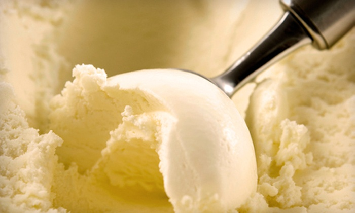 The Double Dipper Ice Cream Parlor & Cafe - Laurel: $6 for Punch Card for Five Small Ice Creams at The Double Dipper Ice Cream Parlor & Cafe ($12.95 Value)