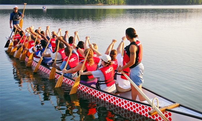 Raleigh Dragon Boat Club - Swift Creek: Two-Hour Dragon-Boat Outing for 10 or 20 from Raleigh Dragon Boat Club (Up to 55% Off)