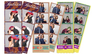 MSP Booths: Two- or Four-Hour Open Air Photo-Booth Rental from MSP Booths (Up to 55% Off)