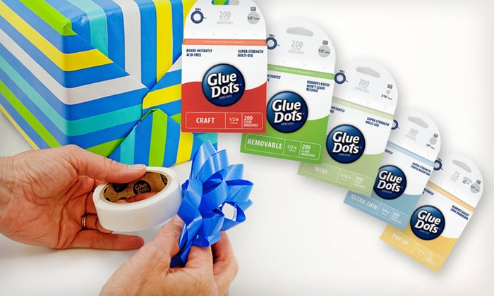Glue Dots Holiday Craft Pack: $15 for a Glue Dots Holiday Craft Pack ($21.95 List Price). Free Shipping and Free Returns.