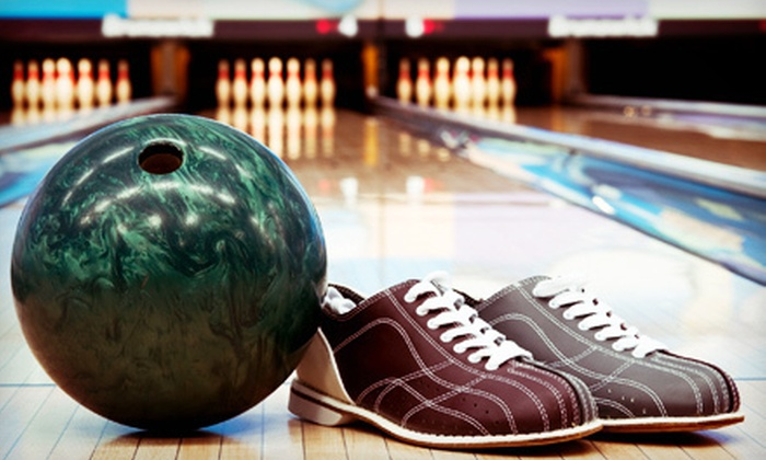Pin Center Bowl - Cleburne: Bowling Package for Up to Six or Children's Birthday-Party Package for Up to 12 at Pin Center Bowl (Up to 56% Off)