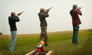 The Oxfordshire Shooting School: One-Hour Clay Pigeon Shoot For One or Two at Oxfordshire Shooting School