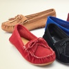 $29.99 for Bucco Mabelle Leather Moccasins