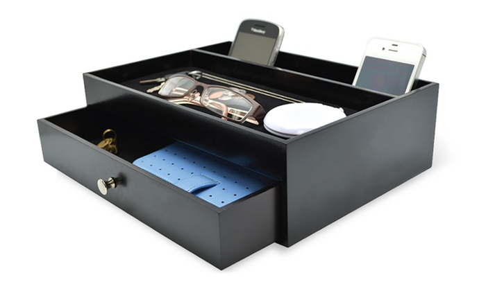 Valet Drawer With Charging Stations   For A Valet Drawer With Charging Stations
