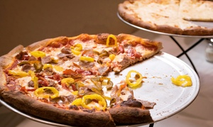 Legends Pizza and Wings: Dine-In or Takeout Pizza and Wings at Legends Pizza and Wings (Up to 44% Off)