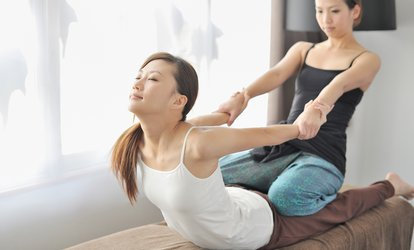 60 Minuten Thai-Massage in der L´anima Praxis für Physiotherapie (63% sparen *)