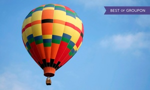 Panorama Balloon Tours: Sunrise or Sunset Hot Air Balloon Tour for Two or Four from Panorama Balloon Tours (Up to 56% Off)