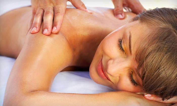 Spa Dew - Fort Lee: 50-Minute Massage with Optional Body Scrub at Spa Dew (Up to 53% Off)