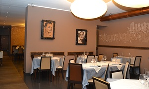 Duae Contemporary Restaurant: Duae Contemporary Restaurant - Menu sushi e sashimi con vino zona centro