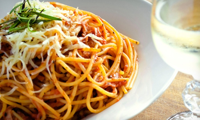 Bella Luna Pizzeria Inc. - Flour Bluff: $10 for $20 Worth of Italian Pasta During Lunch or Dinner at Bella Luna Pizzeria Inc.
