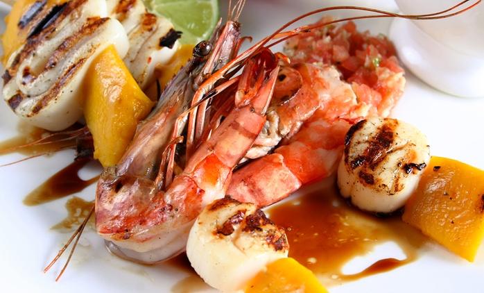 Anzio - Menu gourmet di pesce di 4 portate e bottiglia di vino al Ristorante Boccuccia (sconto fino a 73%)