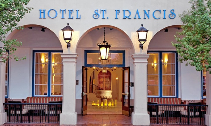 Hotel St. Francis - Downtown Santa Fe: 1- or 3-Night Stay with Optional Bottle of Wine and Daily Parking at Hotel St. Francis in Santa Fe, NM