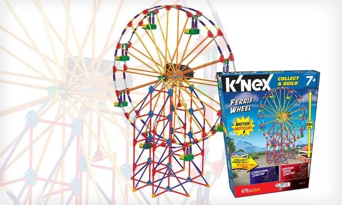 k nex corkscrew coaster instructions