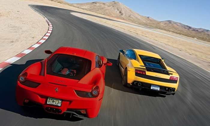 Xtreme Xperience - Carolina Motorsports Park: Three Laps in One or Two Luxury Super Cars on February 21–24 from Xtreme Xperience (Up to 68% Off)