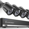 Amcrest 4-Channel 960H Video Security System with 4 Cameras