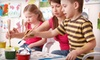 Art in the Vine - Grapevine: 2, 5, or 10 Kids' Art Classes or Painting Party for Up to 10 Kids at Art in the Vine (Up to Half Off)