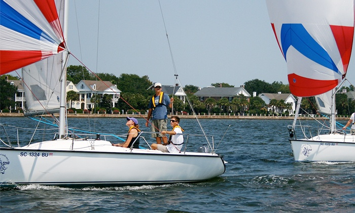 Captains Source - ​Charleston Harbor Resort & Marina : Two- or Three-Hour Sailing Trip for Up to Four from Captains Source (Up to 50% Off)