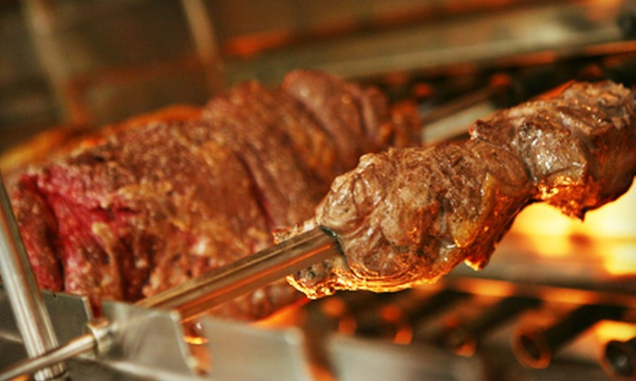 Em Chamas - The Village at Burlington Creek: $25 for $50 Worth of Brazilian Grill Fare at Em Chamas