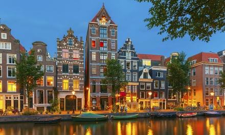 ✈ Amsterdam: 2 to 4 Nights at Choice of 4* Hotels with Return Flights*