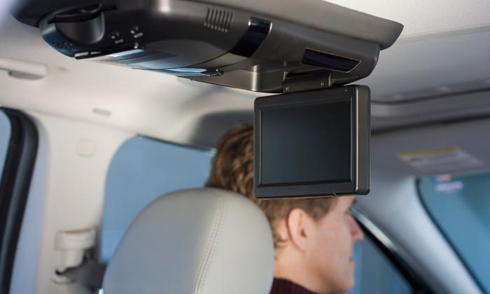 Studio 1 Omaha - Q Merchants: $399 for a Car Video-Monitor Installation from Studio 1 Omaha ($899 Value)