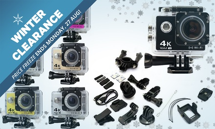 WINTER CLEARANCE: for a Range of Action Cameras with Waterproof Case and Mounts