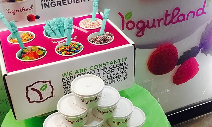 Frozen Yogurt Party Catering - Yogurtland | Groupon