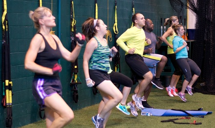 One Month of Unlimited Fitness Classes or 10 Fitness Classes from Custom Fitness Concepts (Up to 88% Off)