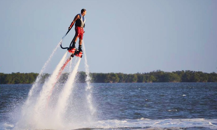 Flyboard Operators of Florida - Multiple Locations: 30-Minute Flyboarding Session for One or Two Flyboard Operators of Florida (Up to 55% Off)