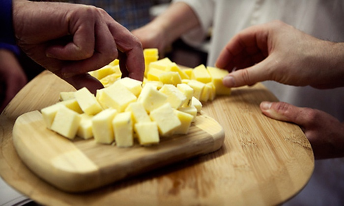 River Valley Cheese - Snoqualmie Valley: Mozzarella- and Aged-Cheddar-Making Class for One, Two, or Four at River Valley Cheese (Up to 67% Off)