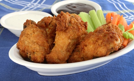 Wings, Beer, and Karaoke at Philly T's (Up to 52% Off). Two Options Available.