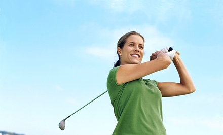 25-Minute Golf Lesson with Two Holes and Range Credit with Golf Professional Services, Inc. (Up to 54% Off)