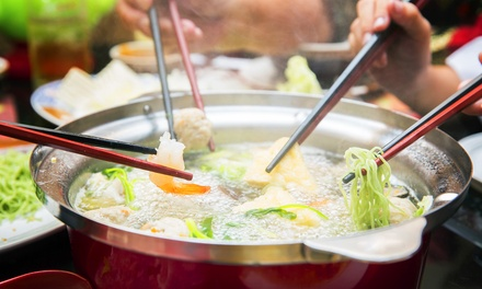 Lunch or Dinner for Two or More at Swish Japanese Hot Pot (Up to 40% Off)