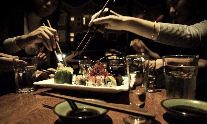 Tsunami Sushi Panhandle - Panhandle : Sushi for Two or Four at Tsunami Sushi Panhandle (43% Off)