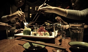 Tsunami Sushi Panhandle: $30 for $50 Worth of Sushi for Two at Tsunami Sushi Panhandle
