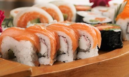 Sushi Platte für 2 oder 4 mit Vor- und Nachspeise bei Noori Düsseldorf (bis zu 32% sparen*)