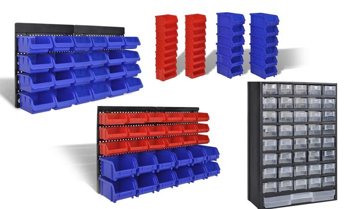 Panneau ou armoire rangement outils groupon shopping - Armoire rangement outils ...
