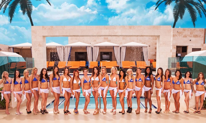 Sapphire Pool & Day Club - Las Vegas: Pool Entry with Limo Pickup and Drinks for Two, Four, or Six People at Sapphire Pool & Day Club (Up to 78% Off)