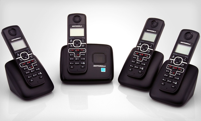 Motorola Cordless Phone System: $49 for a Motorola Cordless Phone and Digital Answering System ($89.99 List Price). Free Shipping and Free Returns.