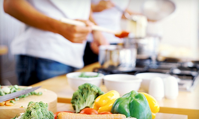 Cooking with Chef Daniele Catalani - Capitol Hill: Two-Hour Italian Cooking Class with Wine Pairings for One or Two from Cooking with Chef Daniele Catalani (Up to 54% Off)