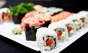 Okinii Japanese Restaurant: Sushi and Japanese Food for Two or Four at Okinii Japanese Restaurant (43% Off)