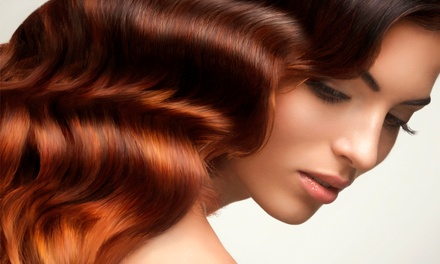 Cut & Condition with Optional Highlights or Color, or Cut and Perm at Marc Anthony Hair Studio (Up to 55% Off)