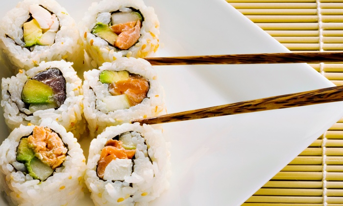 Mr. Sushi - Central Business District: $30 for $50 Worth of Asian Food for Dinner at Mr. Sushi