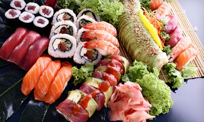 Mika Japanese Cuisine & Bar - Downtown: Prix Fixe Sushi Meal with Drinks for Two or Four at Mika Japanese Cuisine & Bar (Up to 62% Off)
