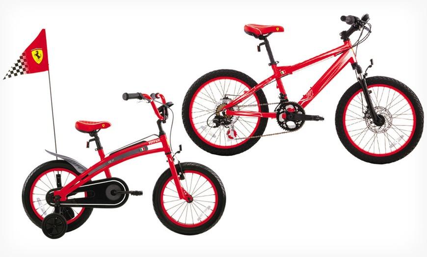 Ferrari Kids Mountain Bikes Groupon Goods