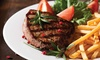 King George - Altrincham: Steak Dinner for Two or Four at King George
