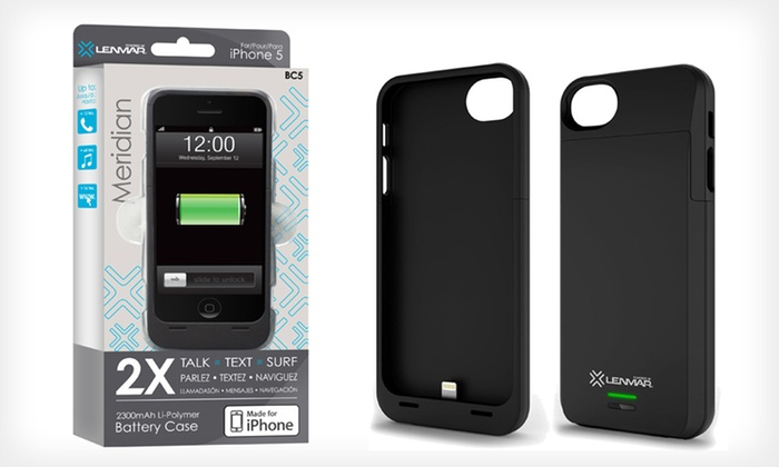 Lenmar Meridian Apple Certified Battery Case for iPhone 5/5s: Lenmar Battery Case for iPhone 5/5s. Multiple Colors Available. Free Shipping and Returns.