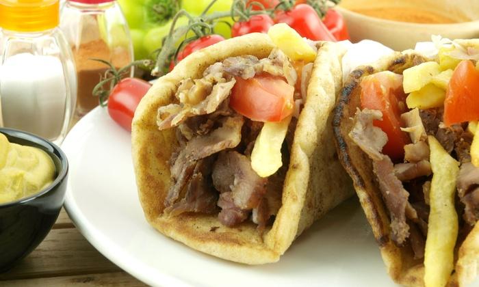 Pita De' Novo - Springlake, University Terrace: $15 for Three Groupons, Each Good for $10 Worth of Mediterranean Food at Pita De' Novo ($30 Value)