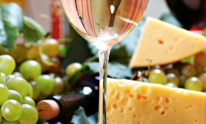 WhiteMoon Winery - St. Mary: Wine Tasting and Tour with Cheese Plate and Souvenir Glasses for Two, Four, or Six at WhiteMoon Winery (Up to 58% Off)
