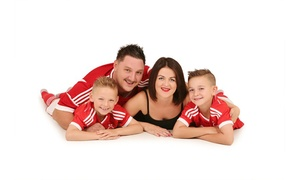 Studio 56 Photography: Family Photoshoot With Six Prints for £15 at Studio 56 (95% Off)