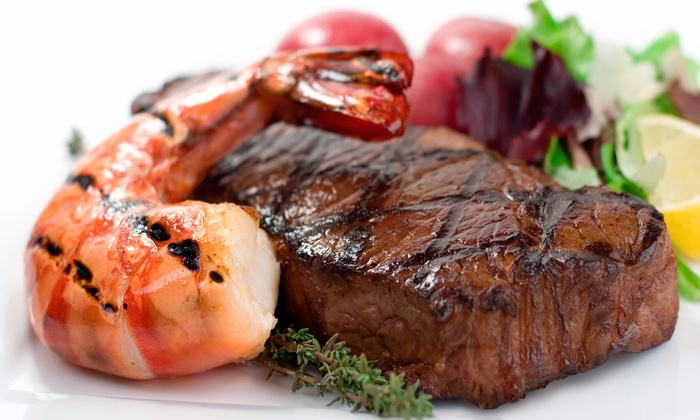 Chicago's  Piano Bar - Chicago's Piano Bar: Surf and Turf Meal for Two, Four or Six from R150 at Chicago's Piano Bar (50% Off)